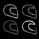 Logo for motorsports Royalty Free Stock Photos