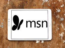 Logo MSN Immagine Stock