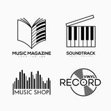 Logo musical illustration de vecteur