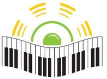 logo muzyki Obrazy Royalty Free