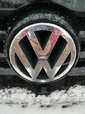 VW logo royalty free stock images