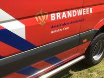 Logo néerlandais de sapeurs-pompiers photos libres de droits