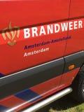 Logo néerlandais de sapeurs-pompiers images libres de droits