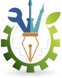 Logo naprawa Fotografia Royalty Free
