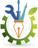 Logo naprawa ilustracji