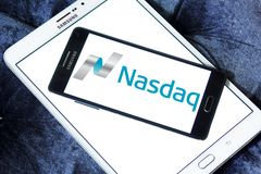 Nasdaq Stock Market logo Royalty Free Stock Photography