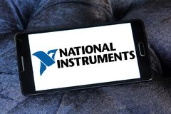 Logo national de société d'instruments Photo libre de droits