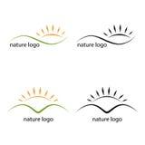 logo natura Zdjęcia Stock
