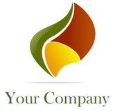 logo natura Zdjęcia Royalty Free
