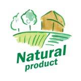 Logo of natural product Stock Photos