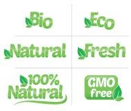 Logo Nature Arkivfoto