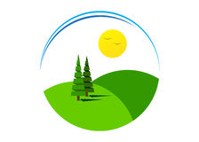 Logo Nature Fotos de archivo