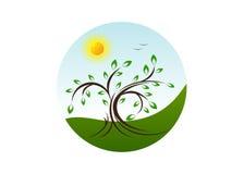 Logo Nature Imagen de archivo libre de regalías