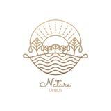 Logo Nature Fotos de archivo libres de regalías
