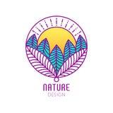 Logo Nature Fotografía de archivo libre de regalías