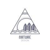 Logo Nature Imágenes de archivo libres de regalías