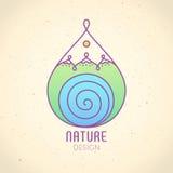 Logo Nature Fotografía de archivo