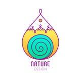 Logo Nature Immagini Stock Libere da Diritti