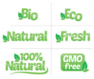 Logo nature Stock Photo