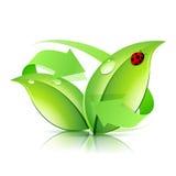 Logo Nature Recycle Stock Photos