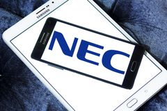 NEC Corporation logo Stock Image