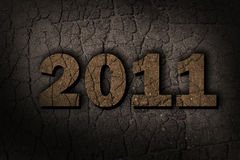 Logo of new 2011. ( 3d rendering Stock Photography