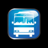 Logo New York Bus Stock Photo