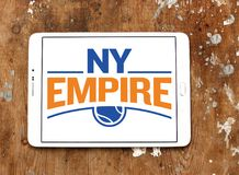 New York Empire tennis team logo. Logo of New York Empire tennis team on samsung tablet . The New York Empire is a World TeamTennis WTT team Royalty Free Stock Photography