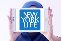 New York Life Insurance Company logo. Logo of New York Life Insurance Company on samsung tablet holded by arab muslim woman. New York Life Insurance Company Stock Photos