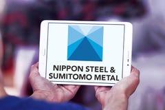 Nippon Steel & Sumitomo Metal Corporation logo Royalty Free Stock Photos