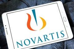 Logo Novartis för farmaceutiskt företag arkivfoto