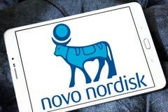 Logo Novo Nordisk-pharmazeutischen Unternehmens Stockbilder
