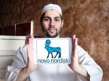Logo Novo Nordisk-pharmazeutischen Unternehmens Lizenzfreies Stockfoto