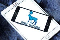 Logo Novo Nordisk-pharmazeutischen Unternehmens Lizenzfreie Stockbilder
