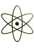 Logo nucléaire Images stock