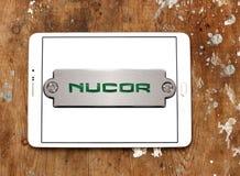 Nucor steel Corporation logo Stock Photo