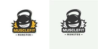 Logo obciąża szablon Zdjęcia Royalty Free