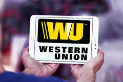 Logo occidental des syndicats Images libres de droits