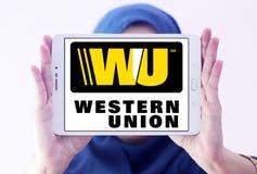 Logo occidental des syndicats Photos stock