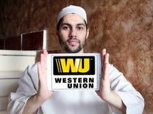 Logo occidental des syndicats Photographie stock libre de droits