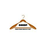 Logo odzieży stojaki dla małych biznesów Obraz Royalty Free