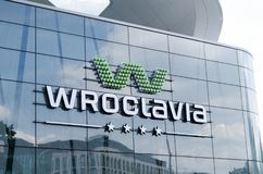 Free Logo Of Shopping Center Wroclavia In Wroclaw, Poland Royalty Free Stock Photography - 119327577