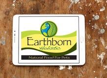 Logo olistico Earthborn dell'alimento per animali domestici Fotografie Stock