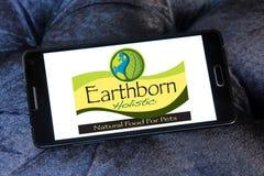 Logo olistico Earthborn dell'alimento per animali domestici Immagine Stock Libera da Diritti