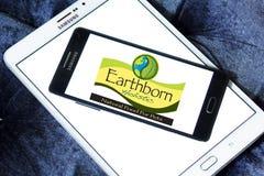 Logo olistico Earthborn dell'alimento per animali domestici Fotografia Stock Libera da Diritti