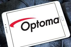 Optoma Corporation logo Stock Image