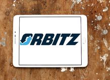 Orbitz travel company logo Royalty Free Stock Image