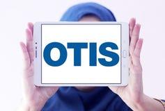 Otis Elevator Company logo. Logo of Otis Elevator Company on samsung tablet holded by arab muslim woman. The Otis Elevator Company is an American company that stock photography