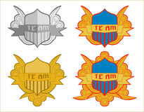 Logo ou mascotte de sport Photos libres de droits