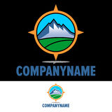 Logo Outdoor Activity Fotos de Stock